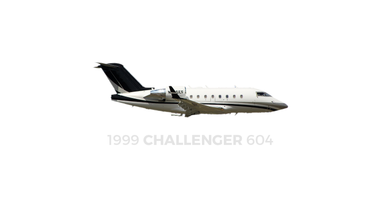 1999 Bombardier  Challenger 604 Used for sale For Super Rich