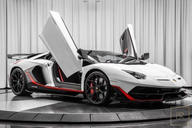 2019 Lamborghini AVENTADOR SVJ ads for sale For Super Rich