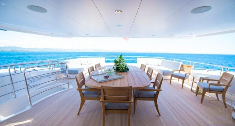 Sunseeker E-MOTION 40 Meters yacht charter rental For Super Rich