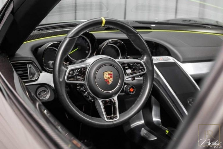 most luxury car for sale Porsche 918 SPYDER used