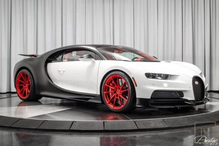 2019 Bugatti CHIRON White for sale For Super Rich