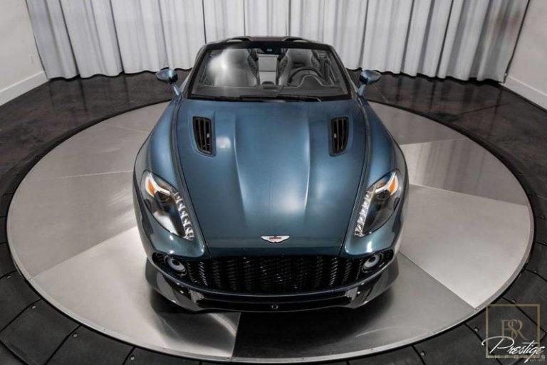 used Aston Martin Vanquish Zagato for sale dubai
