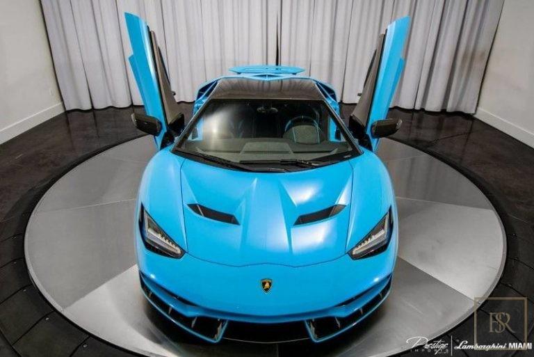 2017 Lamborghini Centenario Automatic for sale For Super Rich