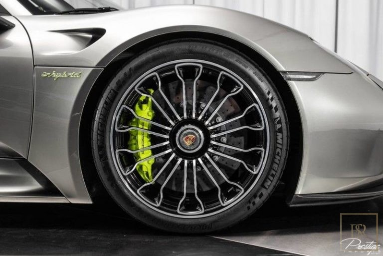 used Porsche 918 SPYDER for sale worldwide