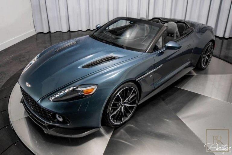 used Aston Martin Vanquish Zagato for sale uae