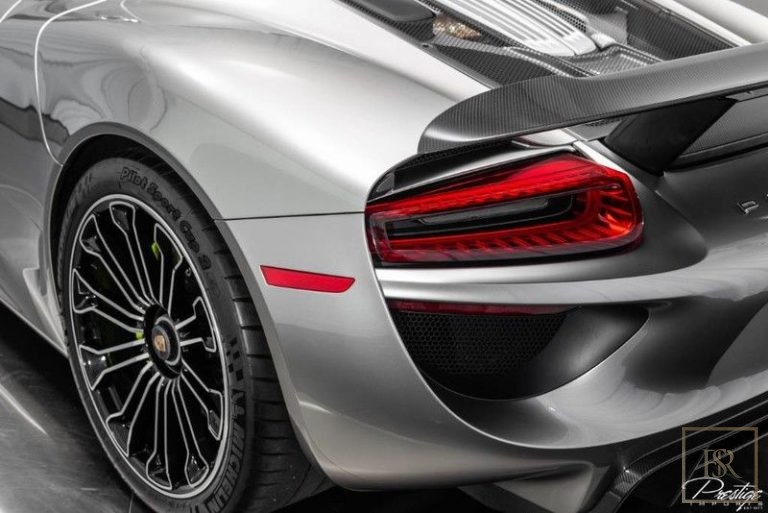 used Porsche 918 SPYDER for sale uae