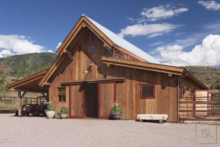 Victorian Farmhouse - Little Woody Creek, Aspen CO properties for sale For Super Rich