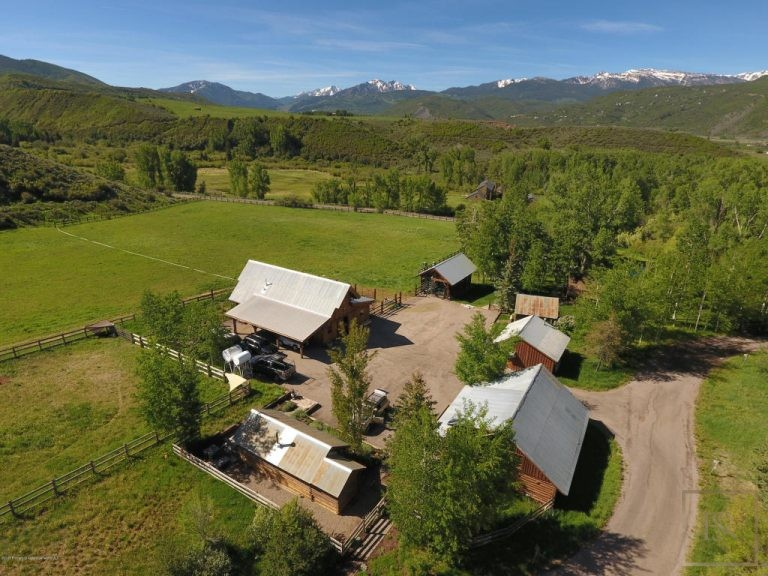 Victorian Farmhouse - Little Woody Creek, Aspen CO buy for sale For Super Rich