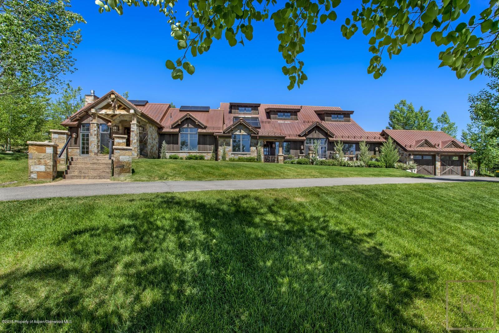 """Ranch 150 Acres """"Cowboy Retreat"""" - Snowmass Aspen, CO rental For Super Rich"""