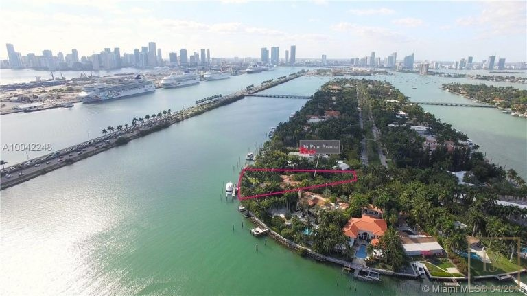 House PALM ISLAND 16 Palm Ave - Miami Beach, USA deal for sale For Super Rich
