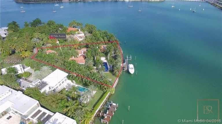 House PALM ISLAND 16 Palm Ave - Miami Beach, USA value for sale For Super Rich