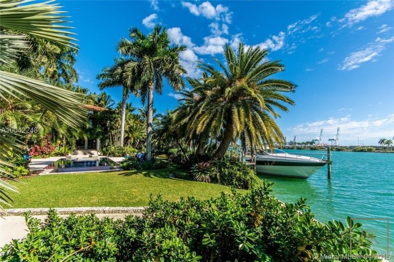 House PALM ISLAND 16 Palm Ave - Miami Beach, USA property for sale For Super Rich