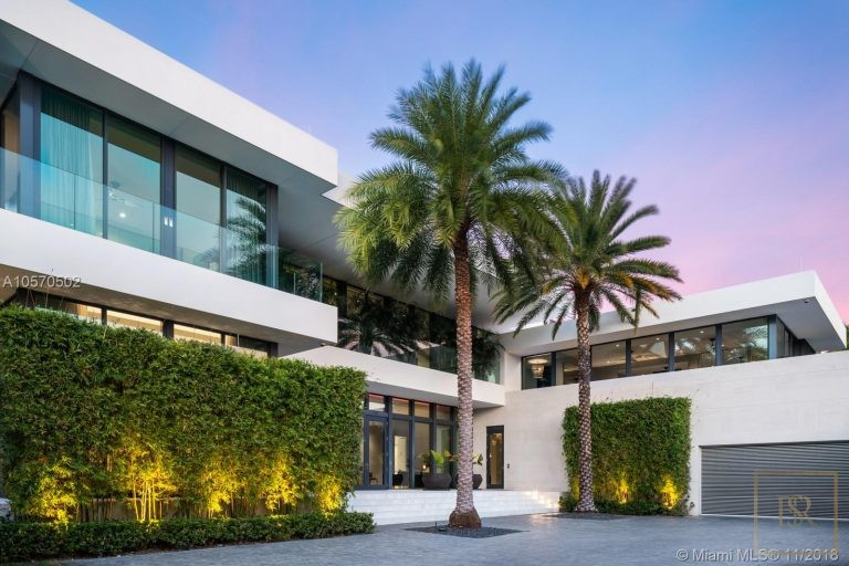 House HIBISCUS ISLAND 101 N Hibiscus Dr - Miami Beach, USA available for sale For Super Rich