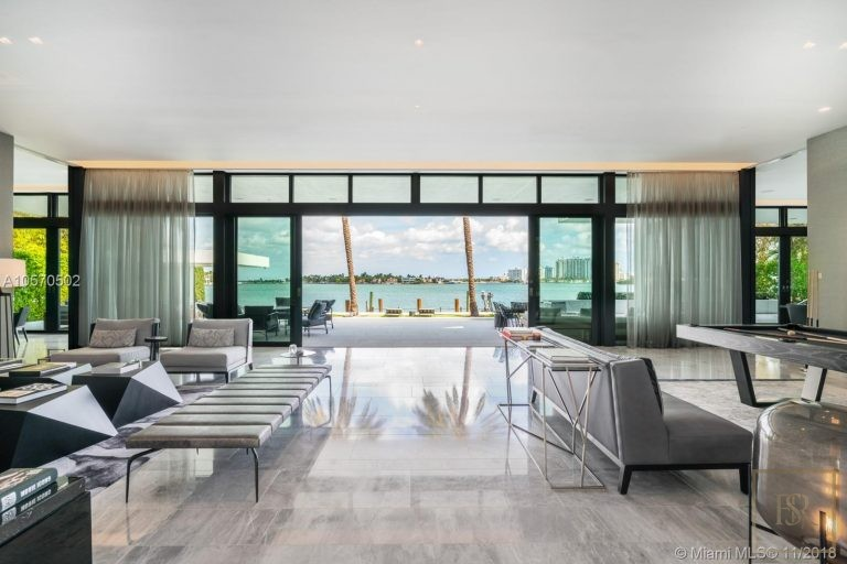 House HIBISCUS ISLAND 101 N Hibiscus Dr - Miami Beach, USA top for sale For Super Rich