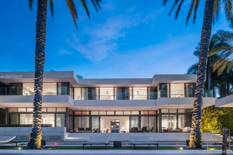 House HIBISCUS ISLAND 101 N Hibiscus Dr - Miami Beach, USA price for sale For Super Rich