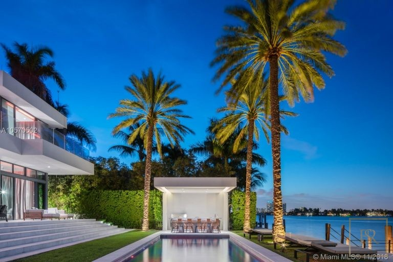House HIBISCUS ISLAND 101 N Hibiscus Dr - Miami Beach, USA value for sale For Super Rich