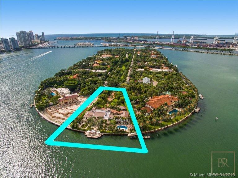 House STAR ISLAND 46 Star Island Dr - Miami Beach, USA A10597515 for sale For Super Rich