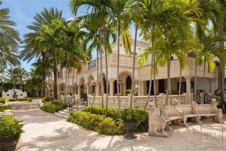 House STAR ISLAND 46 Star Island Dr - Miami Beach, USA search for sale For Super Rich