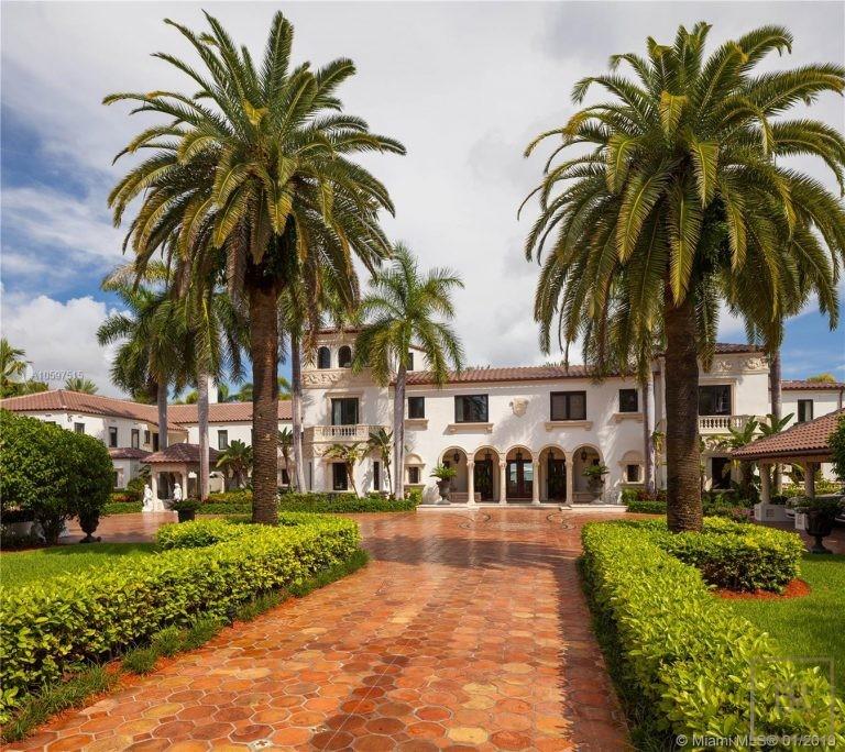 For super rich ultra luxury Villa Miami Beach USA for sale