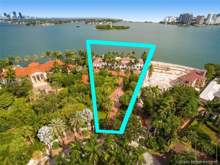 For super rich luxury villa Miami Beach USA for sale
