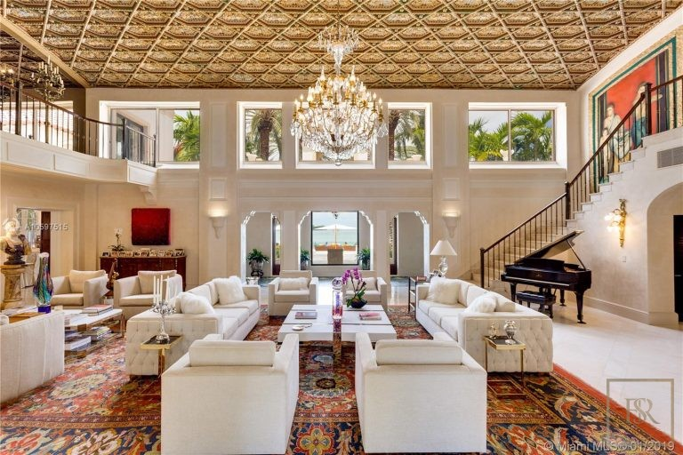 House STAR ISLAND 46 Star Island Dr - Miami Beach, USA expensive for sale For Super Rich
