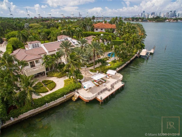 Most expensive properties Miami Beach USA for sale