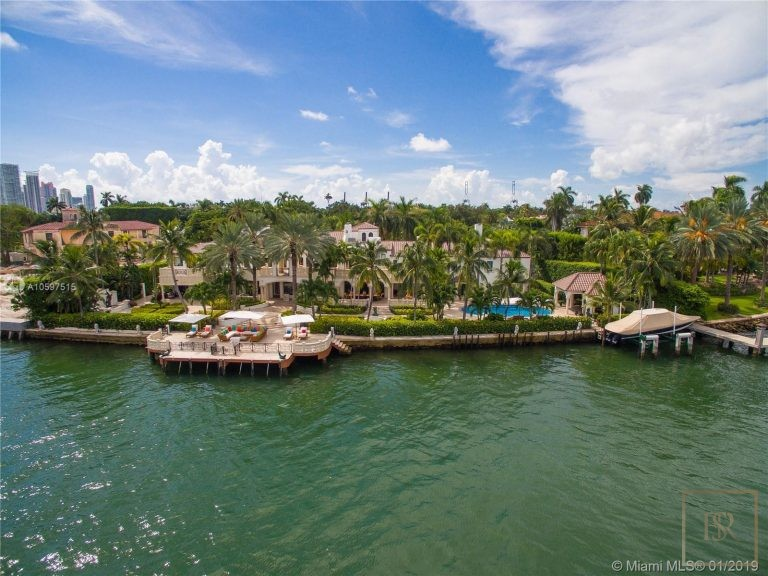 House STAR ISLAND 46 Star Island Dr - Miami Beach, USA deal for sale For Super Rich