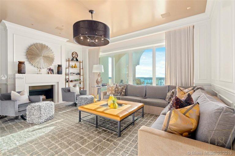 Apartment FISHER ISLAND 5203 Fisher Island Drive - Miami, USA prix for sale For Super Rich