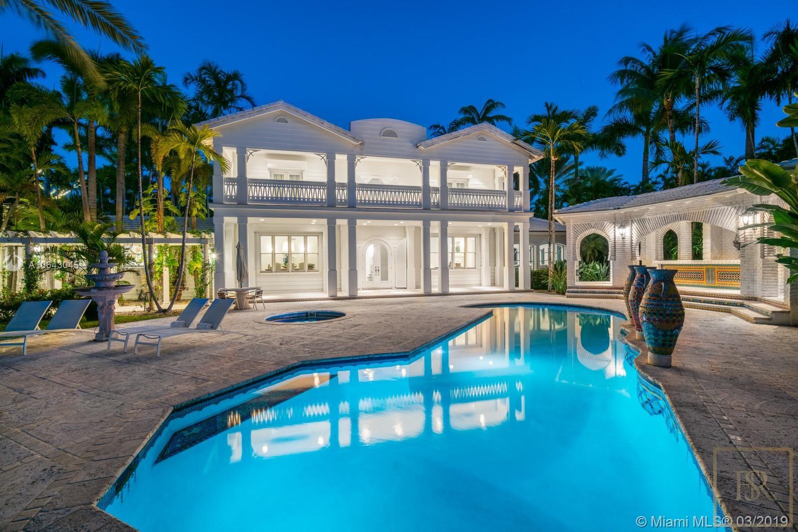 House STAR ISLAND 1 Star Island Dr - Miami Beach, USA for sale For Super Rich