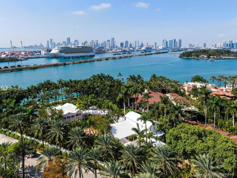 House STAR ISLAND 1 Star Island Dr - Miami Beach, USA available for sale For Super Rich