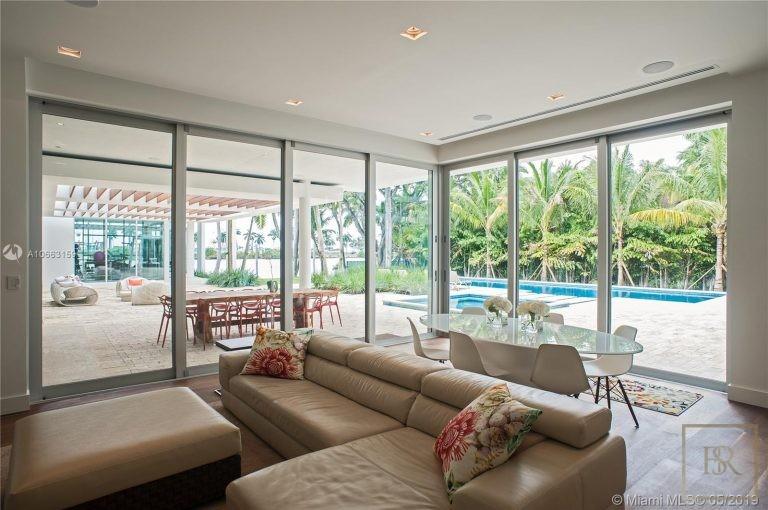 Most expensive luxury villa Miami Beach USA for sale
