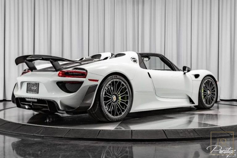 2015 Porsche 918 SPYDER 8 Cyl for sale For Super Rich