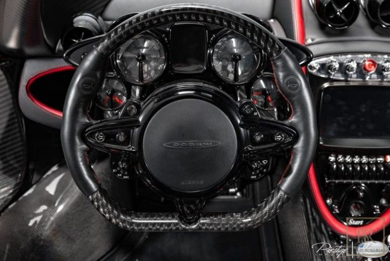 2014 Pagani HUAYRA interior for sale For Super Rich