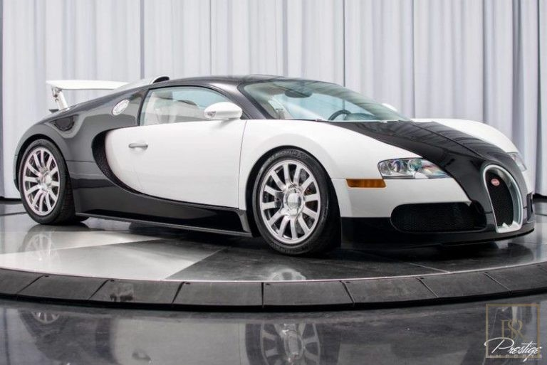 2008 Bugatti VEYRON Black/White for sale For Super Rich