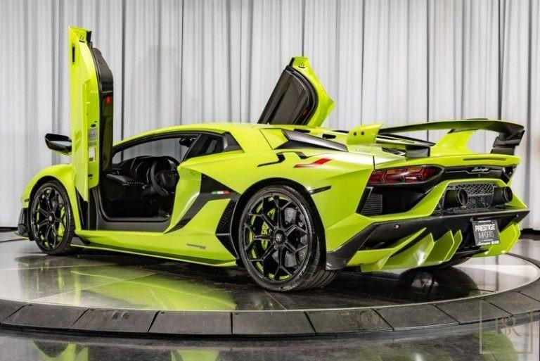 2019 Lamborghini AVENTADOR SVJ Automatic for sale For Super Rich