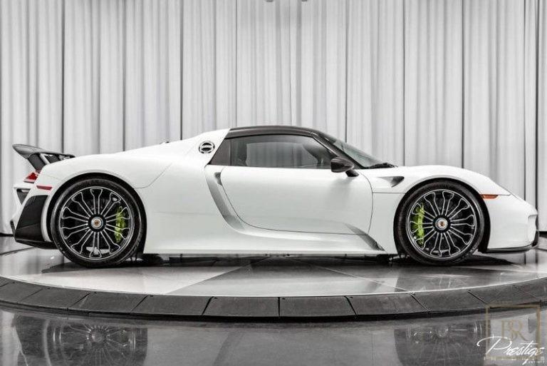 2015 Porsche 918 SPYDER Automatic for sale For Super Rich