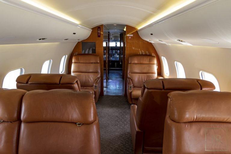 Luxury private jets Falcon Dassault for sale for super rich