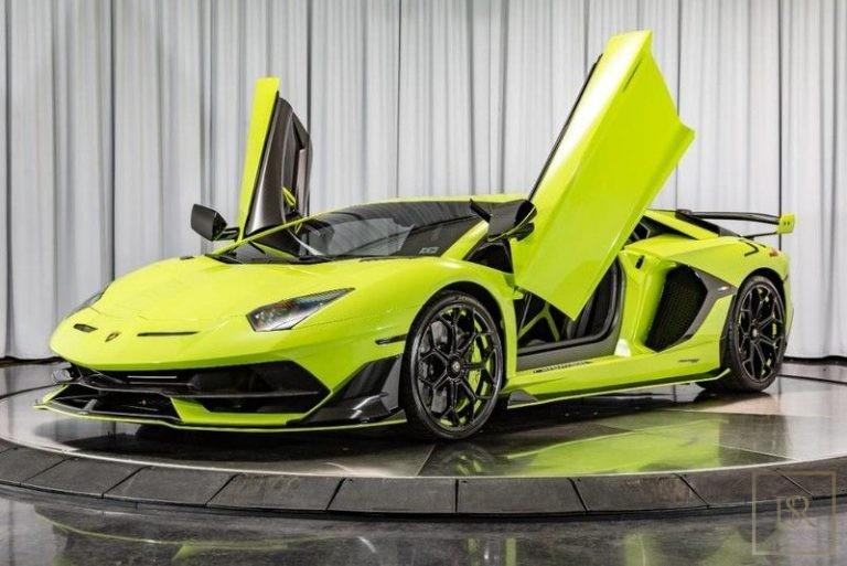 2019 Lamborghini AVENTADOR SVJ Verede Themis exterior for sale For Super Rich