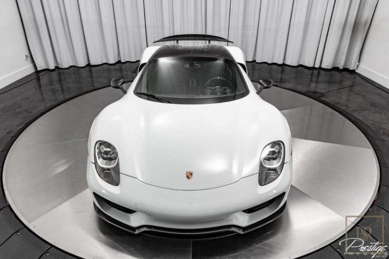 2015 Porsche 918 SPYDER Black WEISSACH for sale For Super Rich