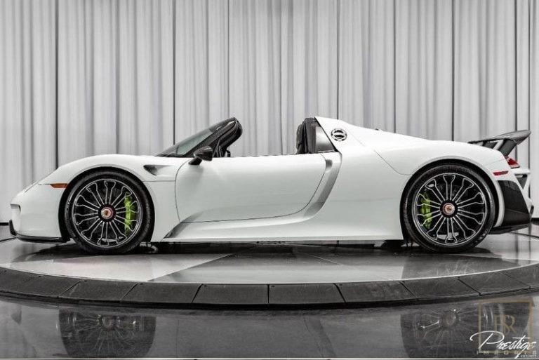 2015 Porsche 918 SPYDER Used for sale For Super Rich