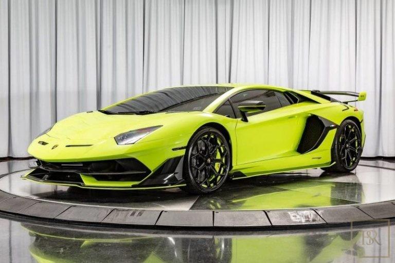 2019 Lamborghini AVENTADOR SVJ image for sale For Super Rich