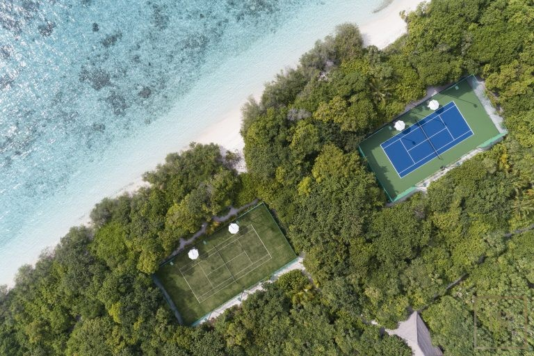 Most expensive luxury villa Randheli Maldives for rent holiday