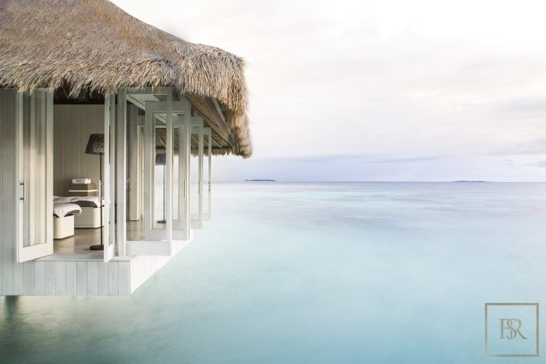 For super rich most expensive villas Randheli Maldives for rent holiday