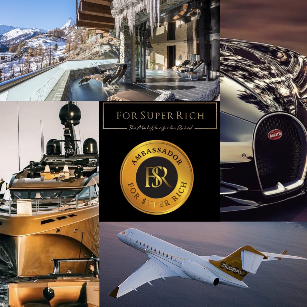 """ForSuperRich.com """"The Ultra-Luxury Marketplace for the Richest"""" For Super Rich"""