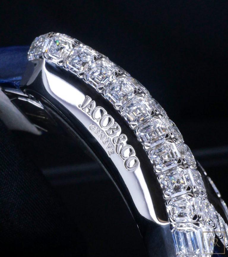 Watch JACOB & CO. Millionaire Skeleton 18k & Diamonds Limited Edition Unique for sale For Super Rich