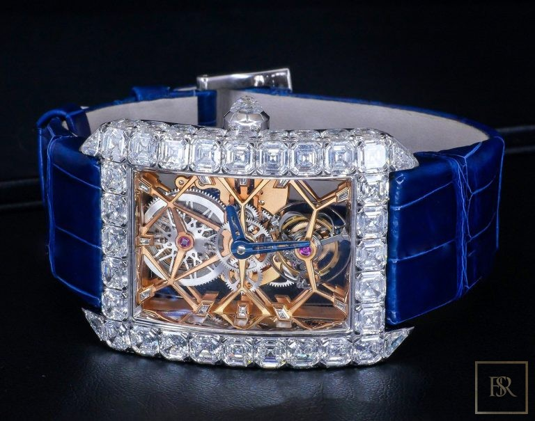 Watch JACOB & CO. Millionaire Skeleton 18k & Diamonds Limited Edition 590000 for sale For Super Rich