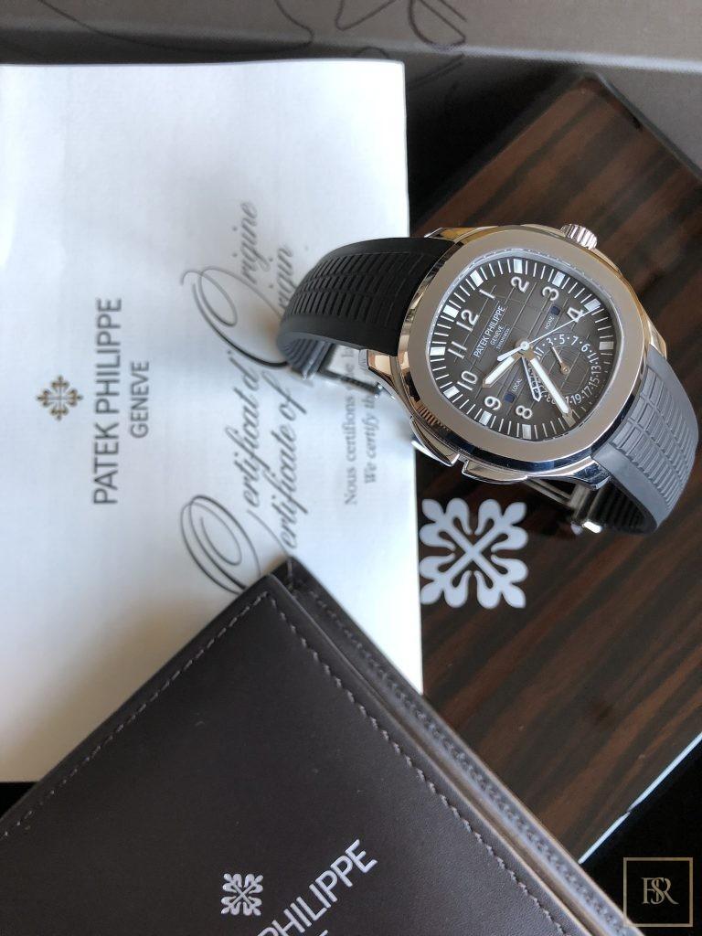 Watch PATEK PHILIPPE Aquanaut Travel Time Tiffany & CO.  Unique for sale For Super Rich
