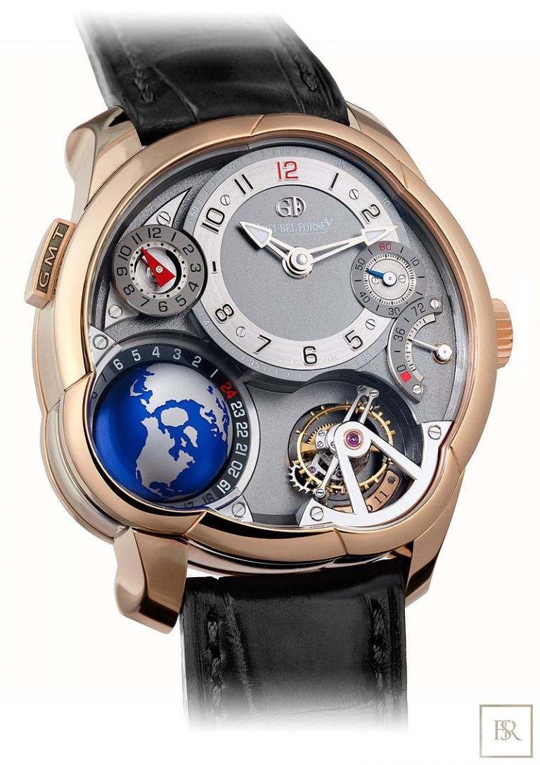 Watch GREUBEL FORSEY GMT Tourbillon Anthracite Dial 43.5MM  United Arab Emirates for sale For Super Rich