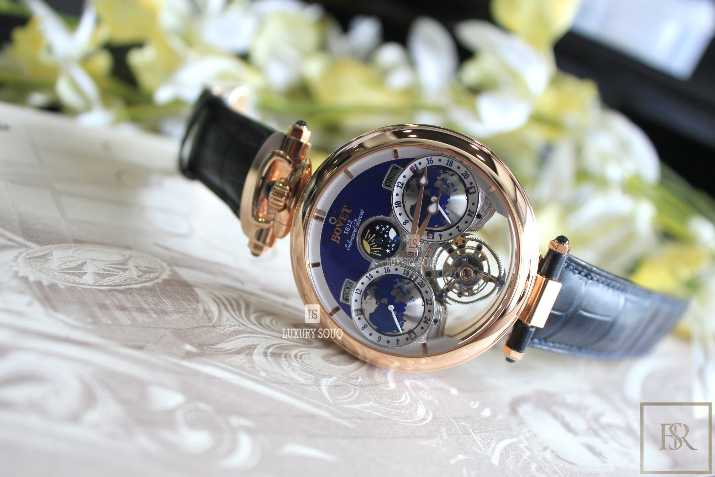 Watch BOVET Amadeo Fleurier Flying Tourbillon Limited Edition  for sale For Super Rich
