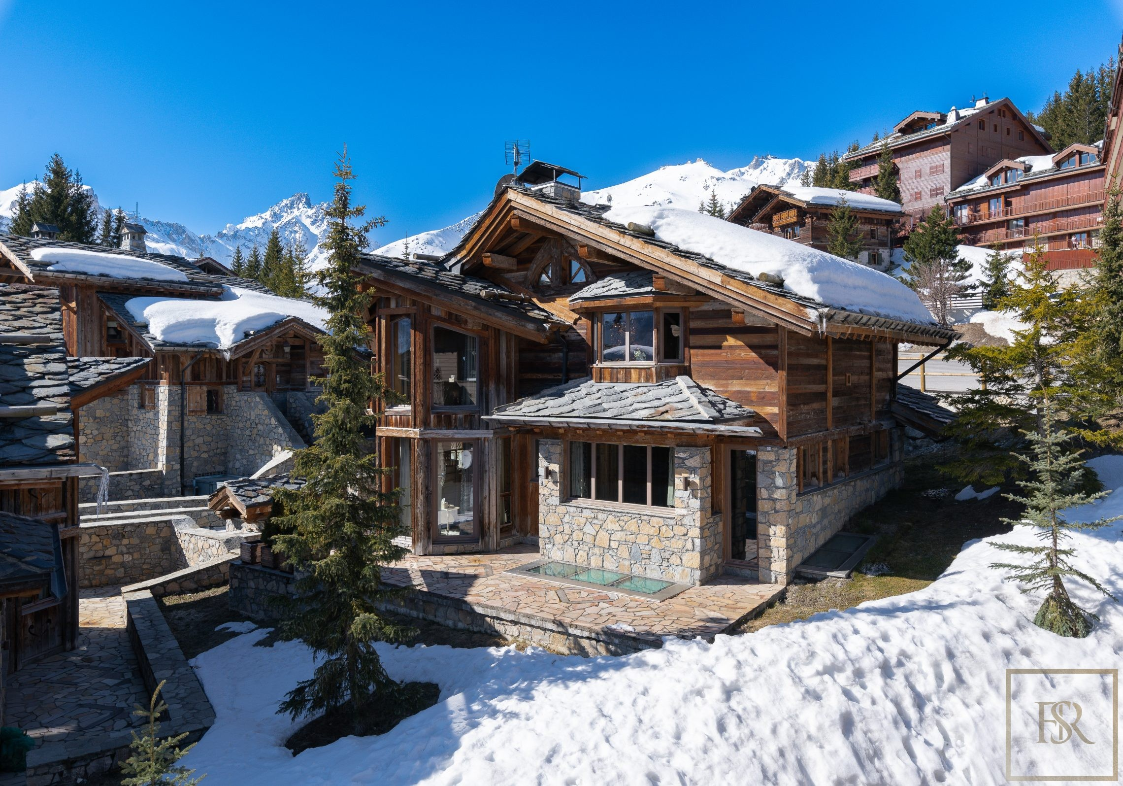 Chalet Courchevel 1850 with Swimming Pool rental For Super Rich